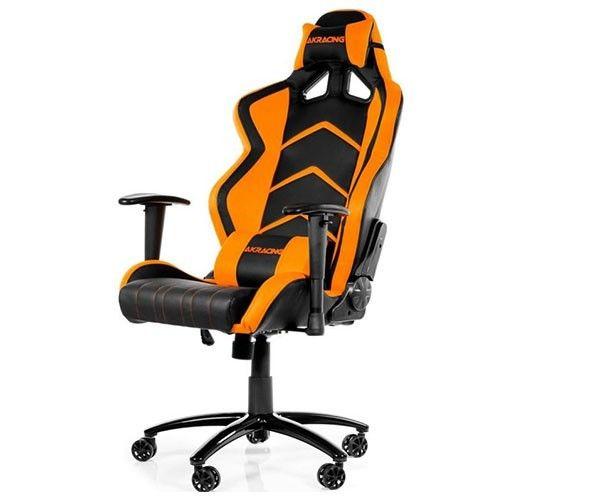 Cadeira AKRacing Player Gaming Chair Black Orange, AK - K6014 - BO - BOX