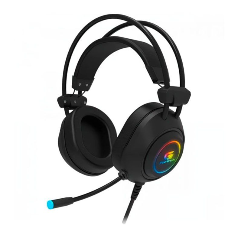 Headset Gamer Fortrek Crusader Rainbow Preto, 70555