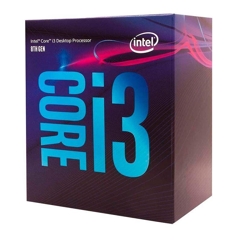 Processador gamer Intel Core i3-8100