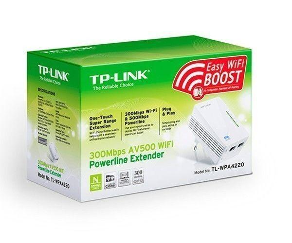 Repetidor wi fi tp link powerline 300mbps tl wpa4220 pichau - Repetidor tp link ...